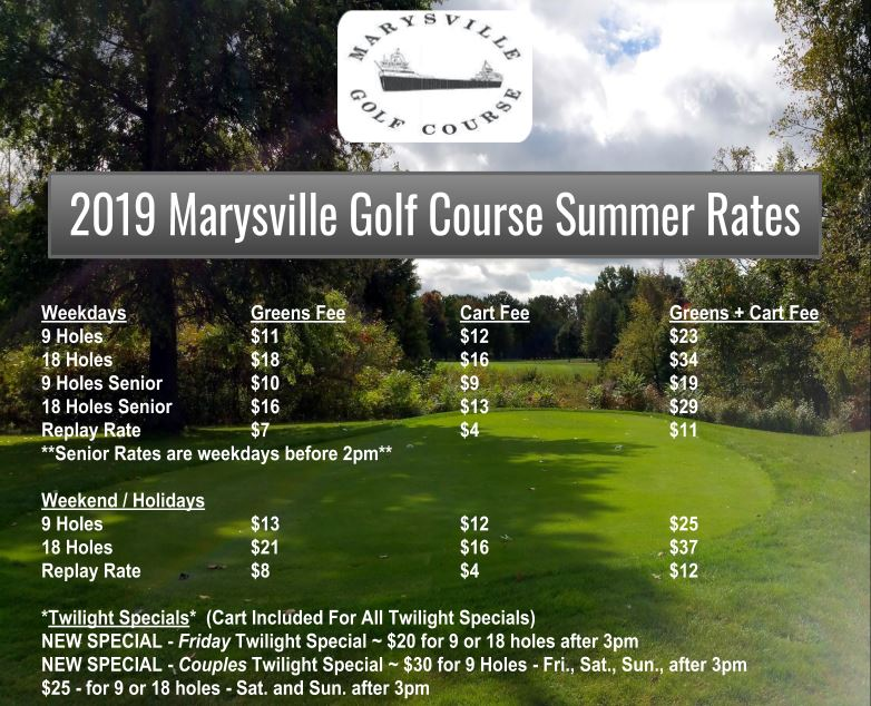2019 summer rates